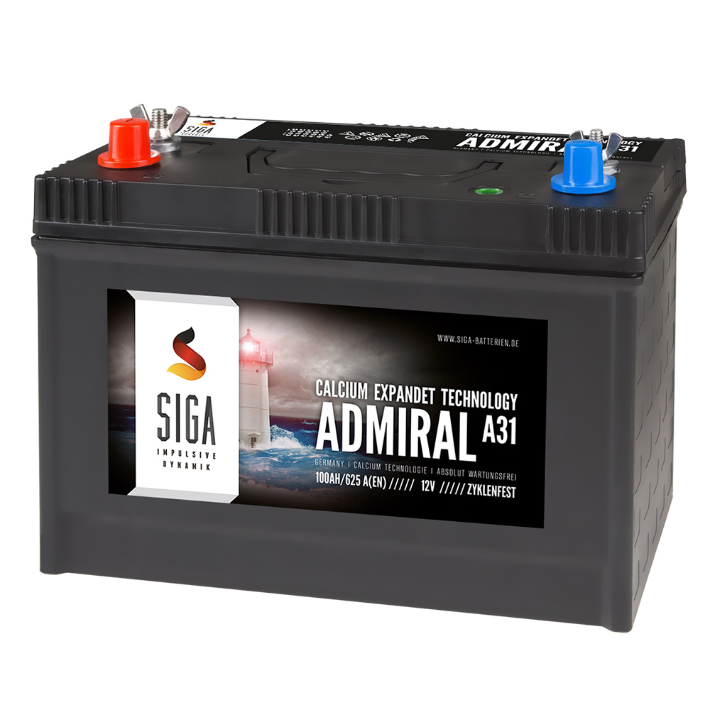 Admiral boat batteries
