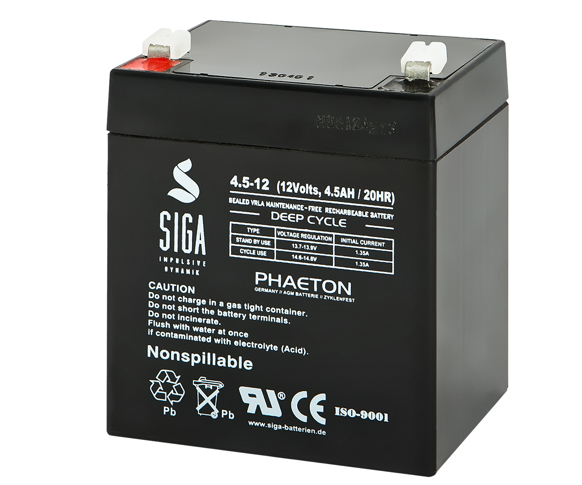 SIGA Lithium Batterie 12Ah 12,8V LiFePO4